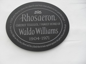Rhosaeron Plaque - Copy