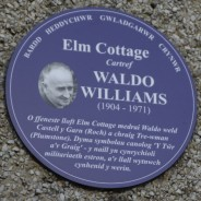 Elm Cottage Plaque