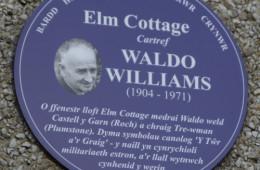 Elm Cottage Plaque